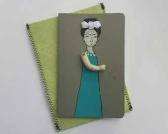 Frida Kahlo Moleskine Cahier Journal Frida Kahlo blank sketchbook