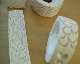 TEXTURES, Shapes - Clay STAMPS