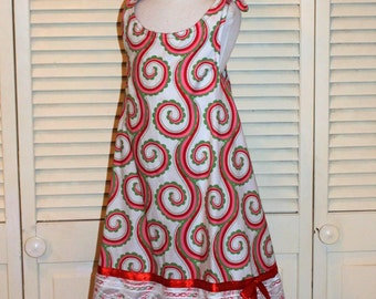 Red, White, Pink Swing Dress in size 2 and 6