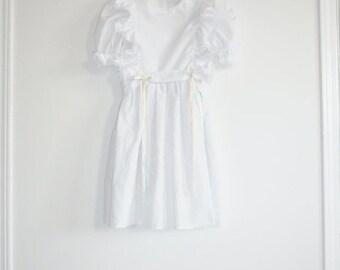 SALE // Vintage White Girl's Dress
