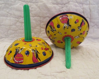 2 Vintage Noise makers Marked SALE