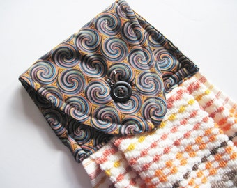 Southwest towels etsy for Southwestern towel bars