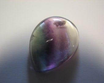 Fluorite Gemstone Cabochon