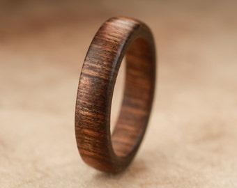 Size 7 - Tamboti Wood Ring No. 255