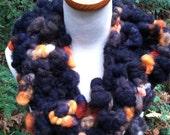 SALE Handspun Cheviot Wool Neck Cowl