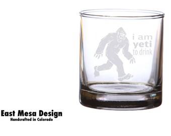 Yeti to Drink Whiskey Glass