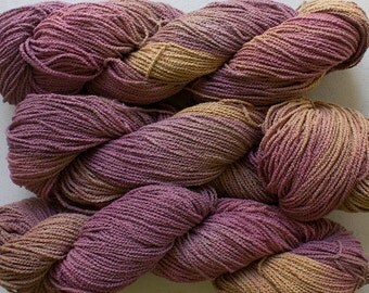 Little Cable, hand painted yarn, cotton, 225 yds - Sandstone