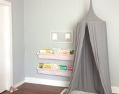 Play Canopy - Gray - Hanging Play Tent