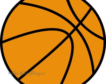 Basketball SVG File PDF / dxf / jpg / png / eps / ai / for Cameo,Cricut & other electronic cutters