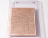 Linen Stampin' Up retired background stamp