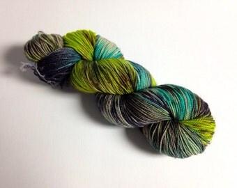 Caribbean Seas - Fingerweight Wool Yarn