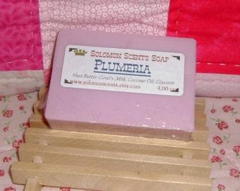 Plumeria Shea Butter/Goats Milk Soap