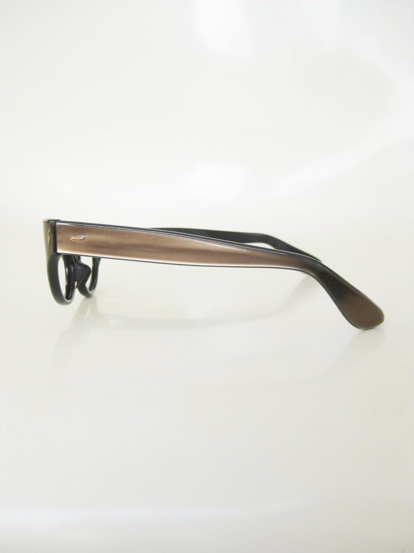 1960s cat eye metallic eyeglasses eyeglass frames womens ladies shiny pearlescent 50s fifties mid century modern - Modern Glasses Frames