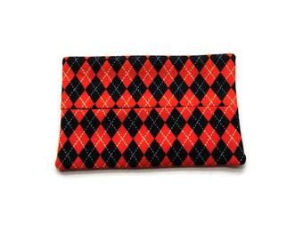 Fabric Tissue Holder -  Argyll