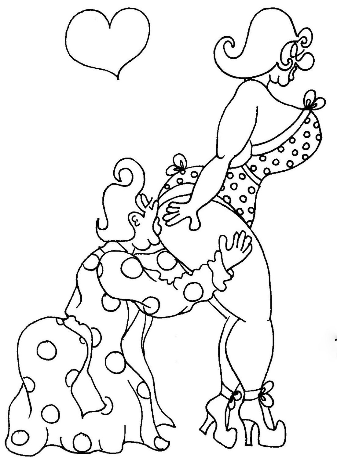 free adult cartoon coloring pages - photo#14