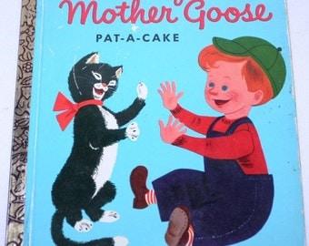 Baby's Mother Goose Little Golden Book, Nursery Rhymes, Children's books, Golden Books