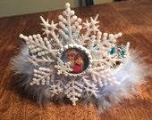 Frozen inspired crown