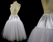 Soft Tulle 1950s Style Petticoat Skirt Slip  Made to Measure FREE SHIPPING WORLDWIDE