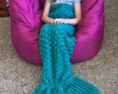 Mermaid Tail Blanket Child Mermaid Tail Blanket