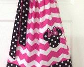 Minnie Mouse Pillowcase Dress Size 5
