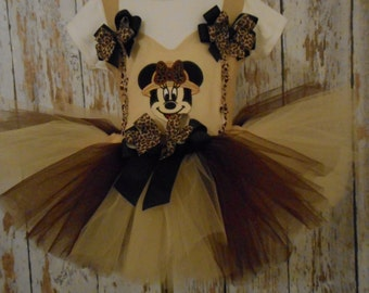 Ms Mouse Safari Tutu