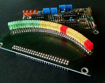 Electronic Circuit Board Vintage Supplies Salvage Assemblage Parts Crafts