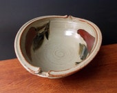 RESERVED LISTING FOR october1968 ~Stoneware Bowl ~ Red PepperDesign~