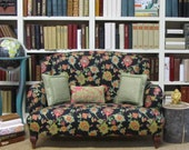 "Floral Settee for 18""-19"" dolls"