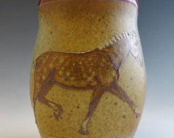 Dappled Palomino Sport Pony Mug