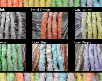 Pastel Synthetic dreads, synthetic dreadlock extensions, dreadlocks, dreads, synthetic dreadlocks, dreadlock extensions, dread, pastel goth