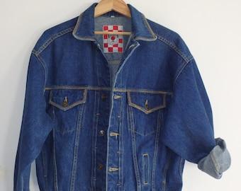 Jean Jacket Vintage Dark Denim