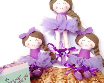 Flower girl Bridesmaid Rag Doll Dolly Custom Handmade Doll - colour coordinated to match your dresses CE marked Perfect for playtime
