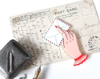 Love Letter Brooch