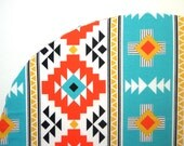 Stokke Fitted Crib Sheet - Aztec Turquoise