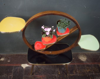 Mid Century Atomic Plant Stand