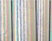 NEW - White Silver Reflective Metallic Spandex Fabric