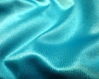 Turquoise Super Weight Stretch Lycra Fabric