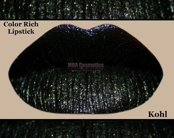 Black Lipstick- Color Rich Lipstick-Kohl