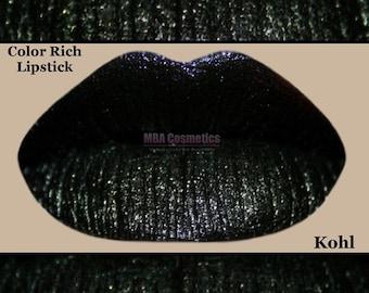 Black Lipstick- Color Rich Lipstick-Kohl