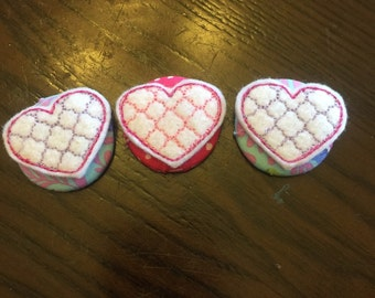 Heart Badge Button