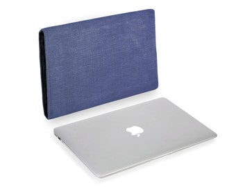 Apple MacBook Air  Natural Linen Soldier Blue 13 or 11 inch