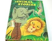 Animal Stories By William Johnston, Vintage Children's Book