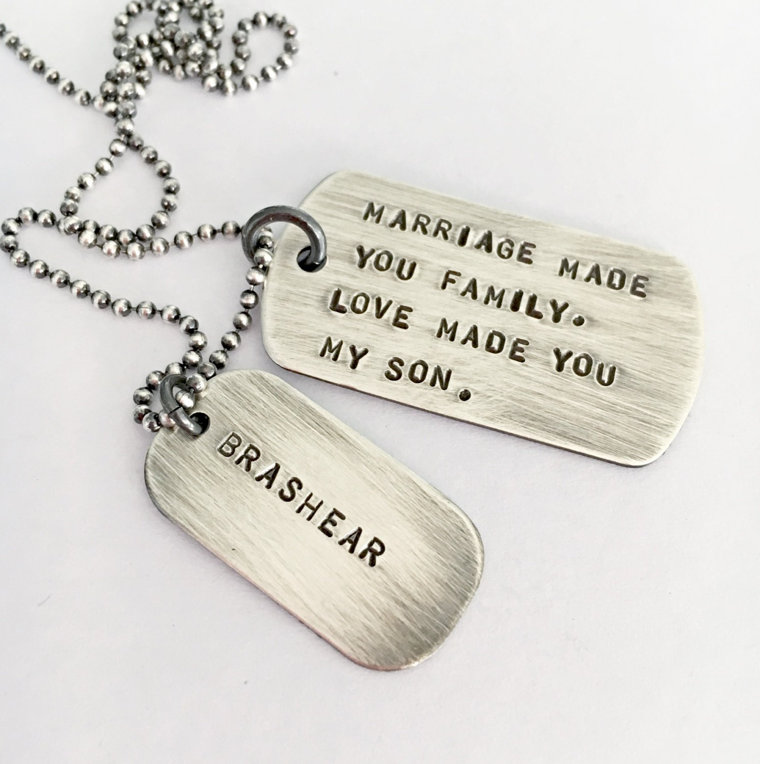 Gifts For Inlaws At Wedding: Wedding Day Son In Law Gift Marriage Son In Law Mens Dog Tag