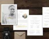 Pricing Guide Template for Photographers - Magazine Template - Photography Price List - Photo Marketing Templates - Digital Pricing - g0022