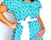 Maternity Hospital Gown in Audrey - Perfect for Nursing and Skin to Skin - Choose  options - Ready to Ship