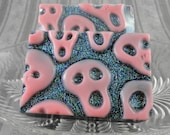 Soap - Peaches and Scream Skull Soap - Halloween - Fright Night - Day of the Dead - Party Favor -  SoapGarden
