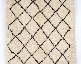 Diamond Skies -Classic Beni Ourain Moroccan Rug