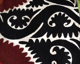 Vintage Embroidered Suzani Pillow cover