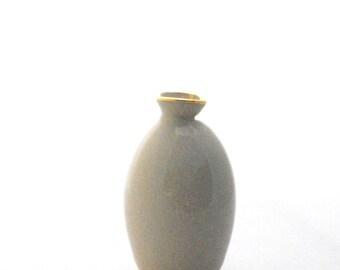 pottery vase handmade ceramic bud vase wheel thrown pottery teacher gift