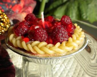 Raspberry Pie Gel Candle